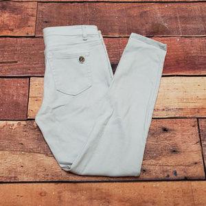 Michael Kors Skinny Jeans Size 6 | Gray Stretch